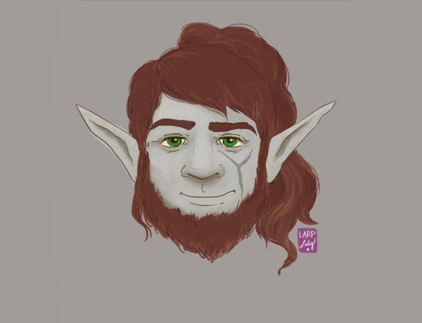 Firbolg dnd character commission. See more at larplady.com